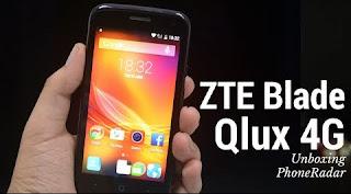 Solusi Reset Pola di ZTE Qlux Blade 4G