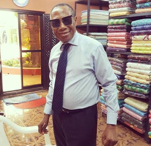 dbanj father celebrates birthday