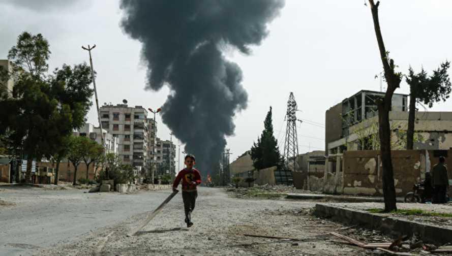 Lagi 26 orang korban penyerangan Angkatan Udara koalisi Amerika CS Serikat di Suriah