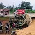 Motorista de caminhão morre em acidente com carreta carregada com cimento em Guapó