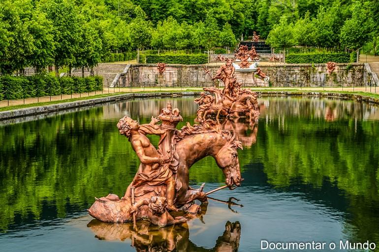 Fontes dos cavalos; Palácio Real de La Granja de San Ildefonso