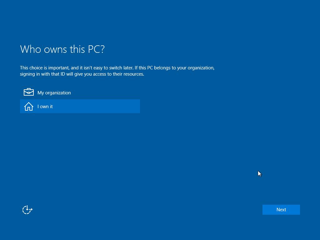 Gambar langkah  install windows10 kelima