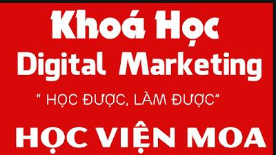 Khóa học digital marketing tại MOA