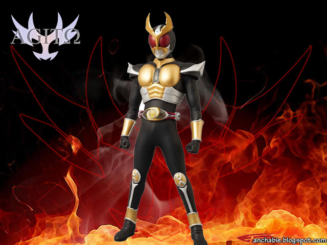 masked rider agito flame form