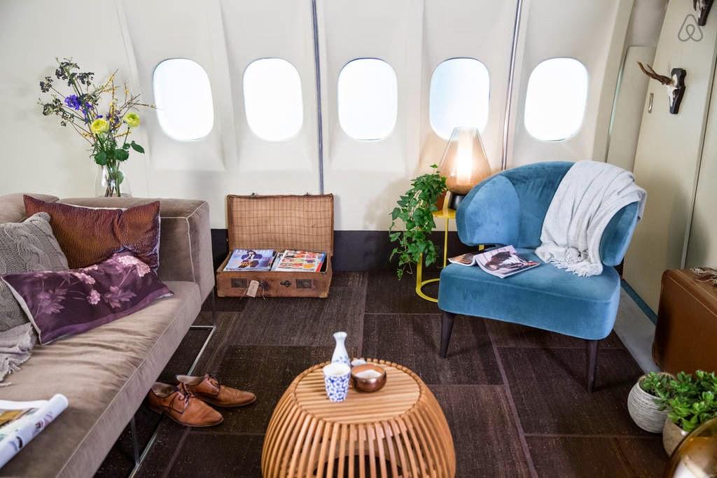 Alojamiento en un avion