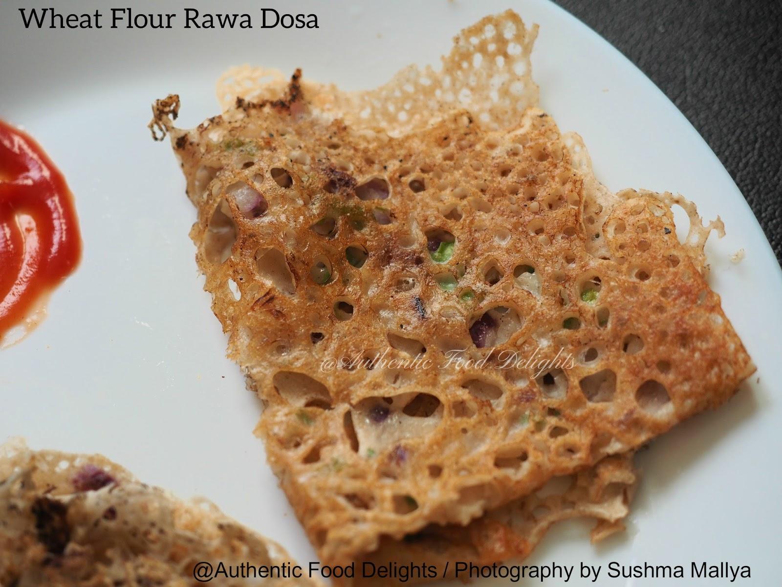 Wheat dosa recipe instant wheat flour dosa godhuma dosa or godhi dose