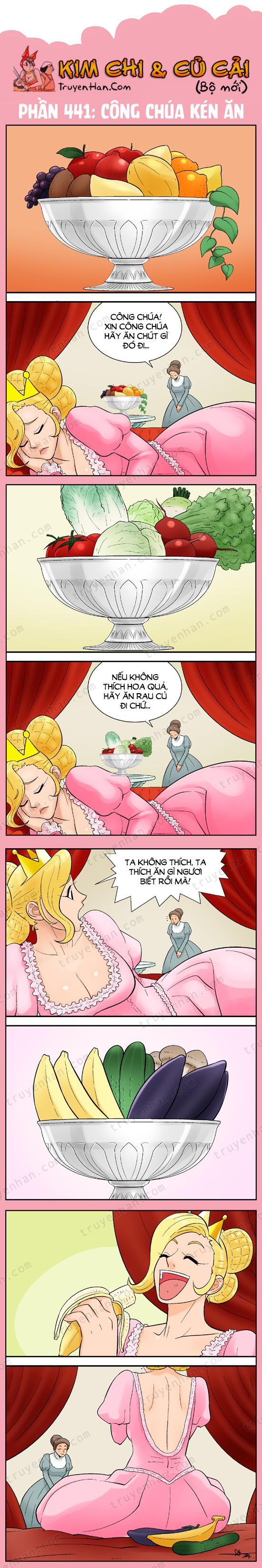Kim Chi Và Củ Cải phần 441: Công chúa kén ăn