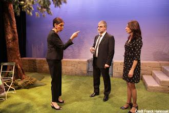 Théâtre : Le jardin d'Alphonse de Didier Caron - Avec Didier Caron, Yves Collignon, Julia Dorval - Théâtre Michel