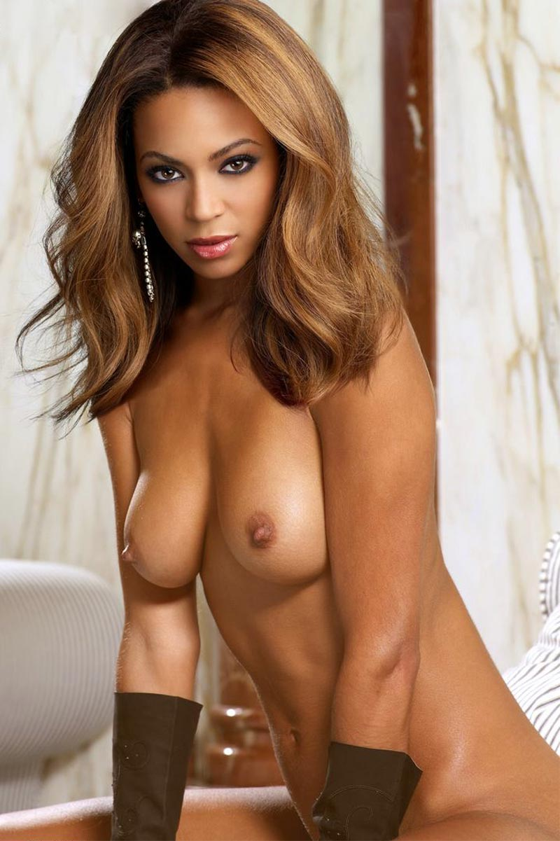beyonce boobs nude