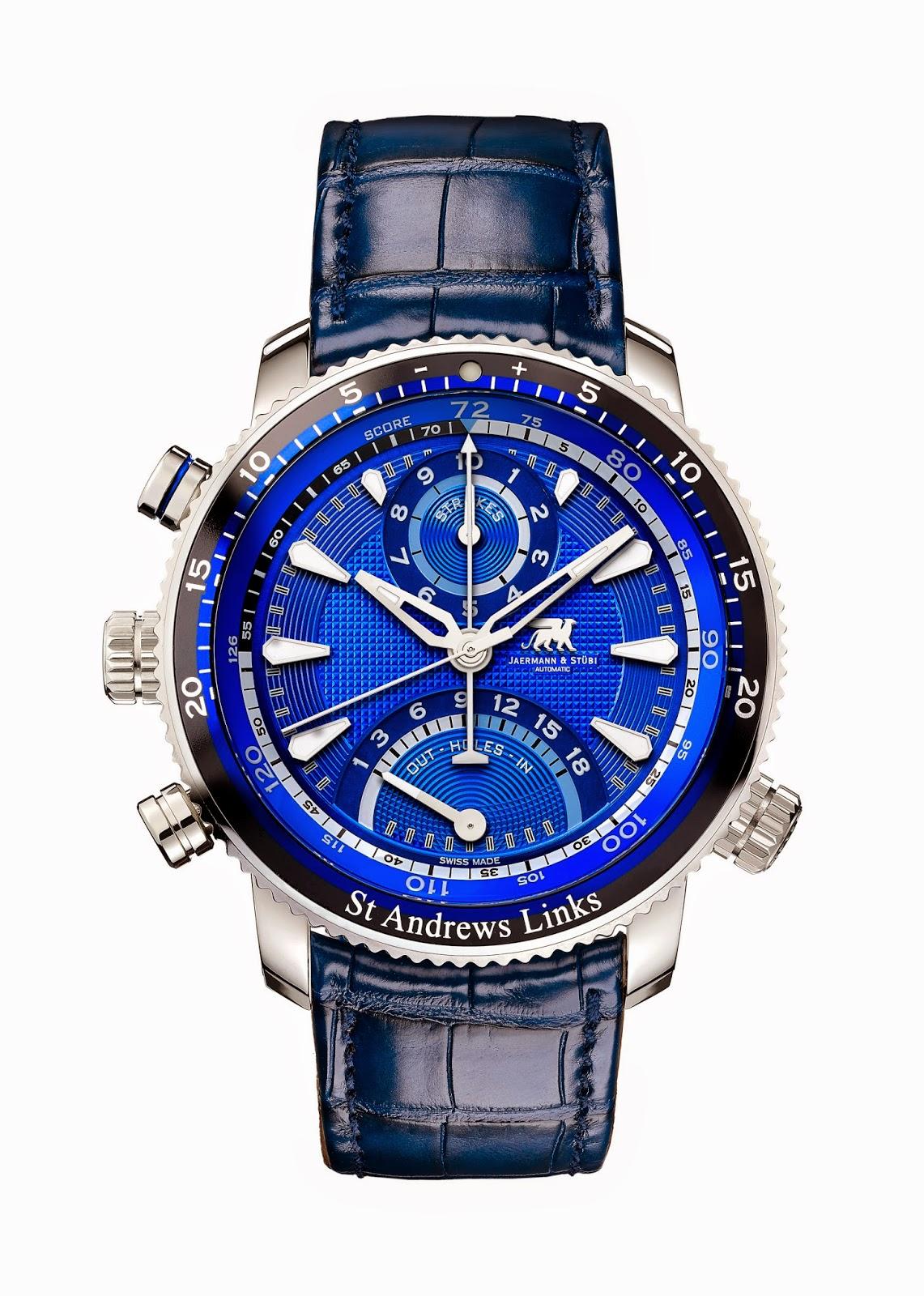 Jaermann & Stübi the The Timepiece Of Golf 2