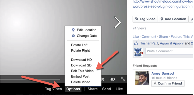 How To Edit Thumbnail On Facebook