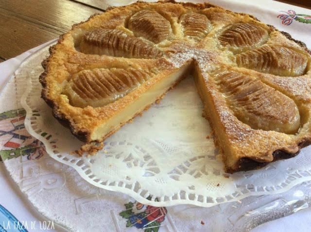 tarta-de-peras-repostería francesa-