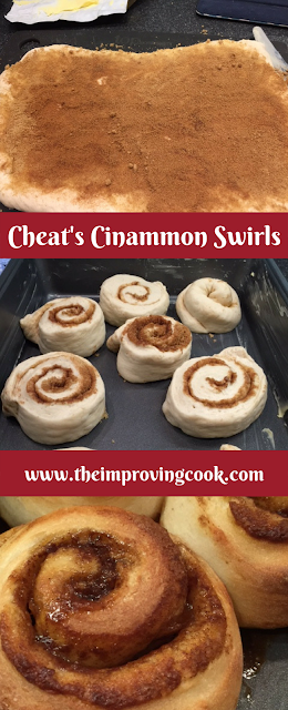 The Improving Cook- Cheat's Cinammon Swirls pinnable image