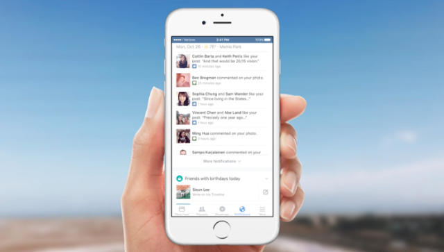 How do I adjust my mobile push notifications from Facebook? (iOS, Android)