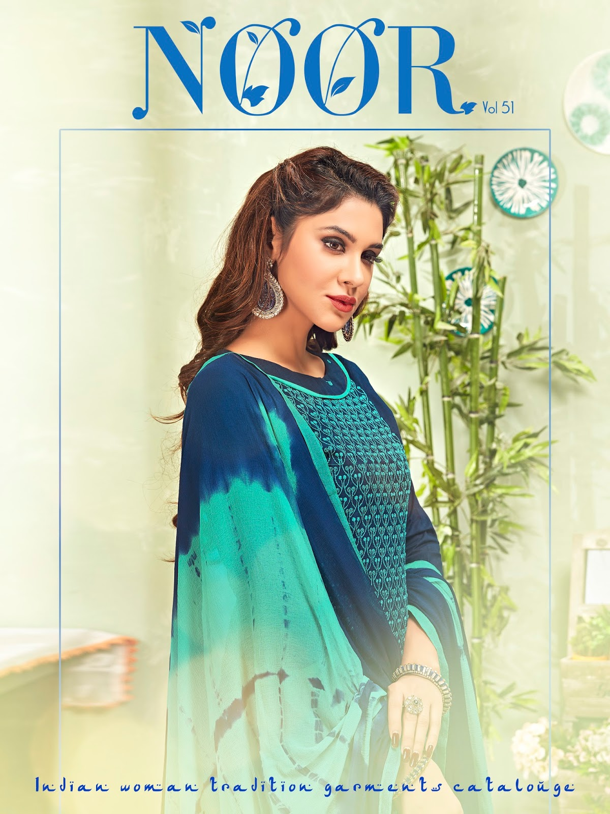 Kavya vol 51-Noor-New Arrival Mumbai Cotton Slub Dress Material