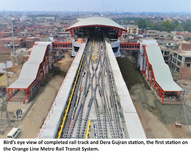 CR-NORINCO completes final leg of track-laying of Orange Line Metro Rail Transit System