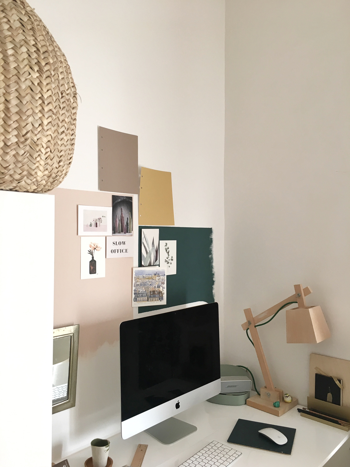 ilaria fatone - my workspace at home - makeover - before