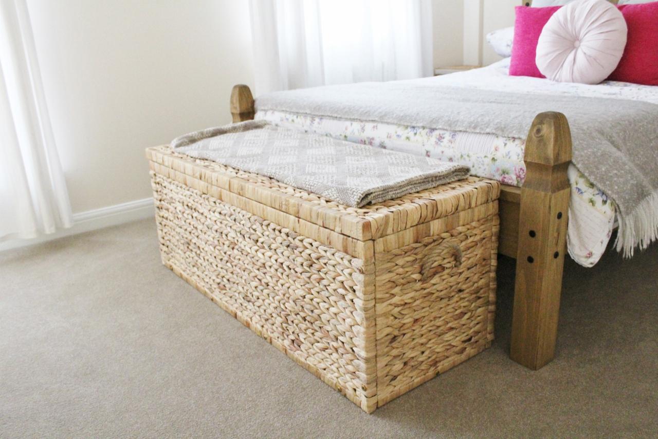 Box at end of bed