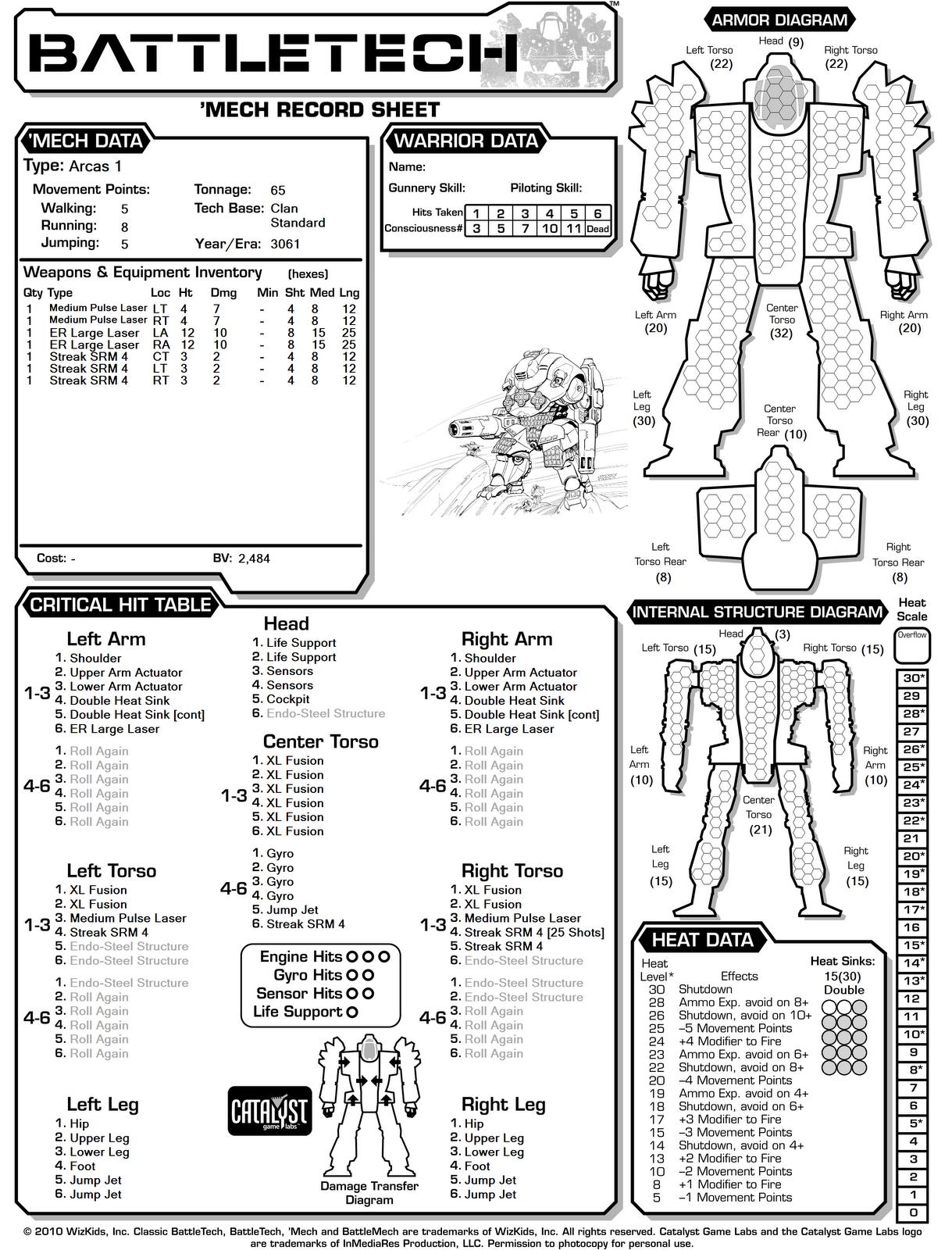 Battletech Engineer Battletech Encyclopedia Formerly