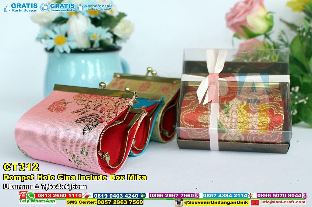 Dompet Holo Cina Include Box Mika   Souvenir Pernikahan