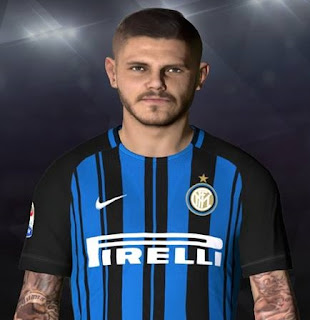 PES 2017 Faces Mauro Icardi by Facemaker Ahmed El Shenawy