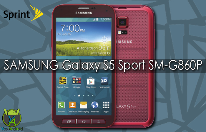 Download G860PVPS2CPL2 | Galaxy S5 Sport (Sprint) SM-G860P