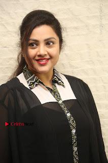 Tamil Actress Meena Latest Stills in Black Dress at TSR TV9 Awards Press Meet  0009.JPG