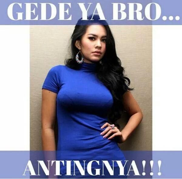 Gede Ya Bro... Antingnya !!!