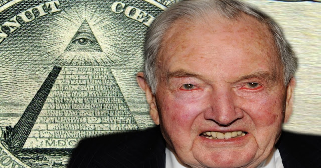Donald Trump é Illuminati - Família Rockfeller - Reptiliano