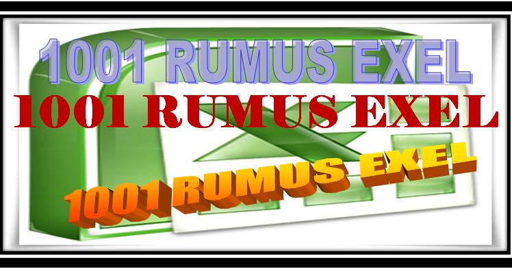 1001 Quot Rumus Microsoft Exel Lengkap Quot Sd Negeri 1 Asemrudung
