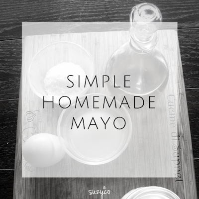 4 ingredient simple homemade mayo