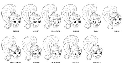 Shimmer And Shine Nickelodeon Coloring Coloring Pages