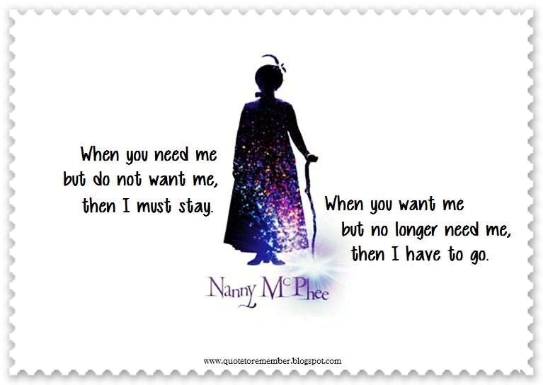 When You Need Me Quotes: #NannyMcPhee #EmmaThompson #ColinFirth