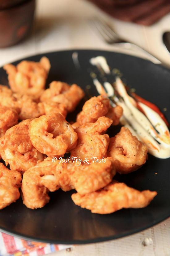 Resep Crispy Calamari Pengalaman Bersama Go Jek Just Try Taste