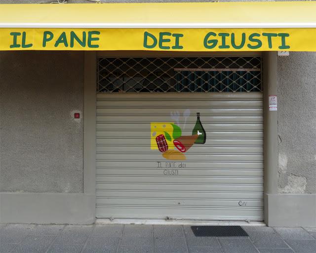 Il Pane dei Giusti, Via Magenta, Livorno