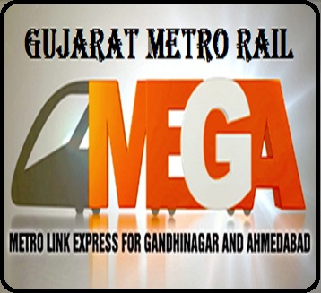 Image result for GUJARAT METRO RAIL  logo