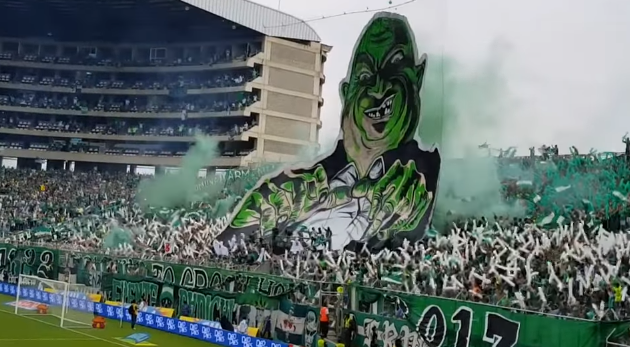 deportivo cali destruction
