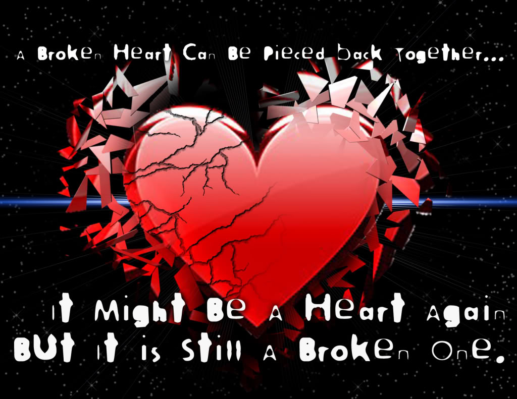 Broken Heart: I Love You-Picture And Quotes