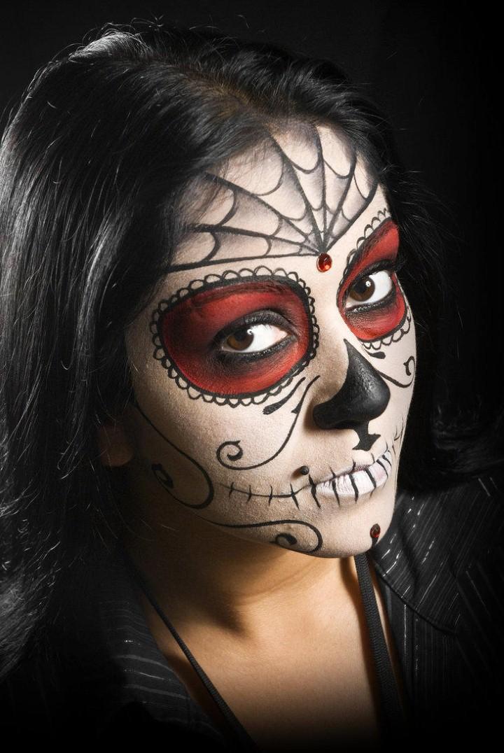 Боди арт к Хэллоуину