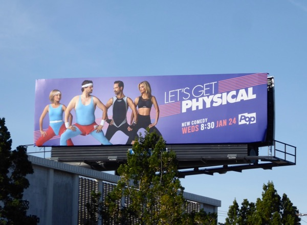 Lets Get Physical series launch billboard