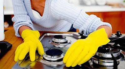 Tips membersihkan interior dapur