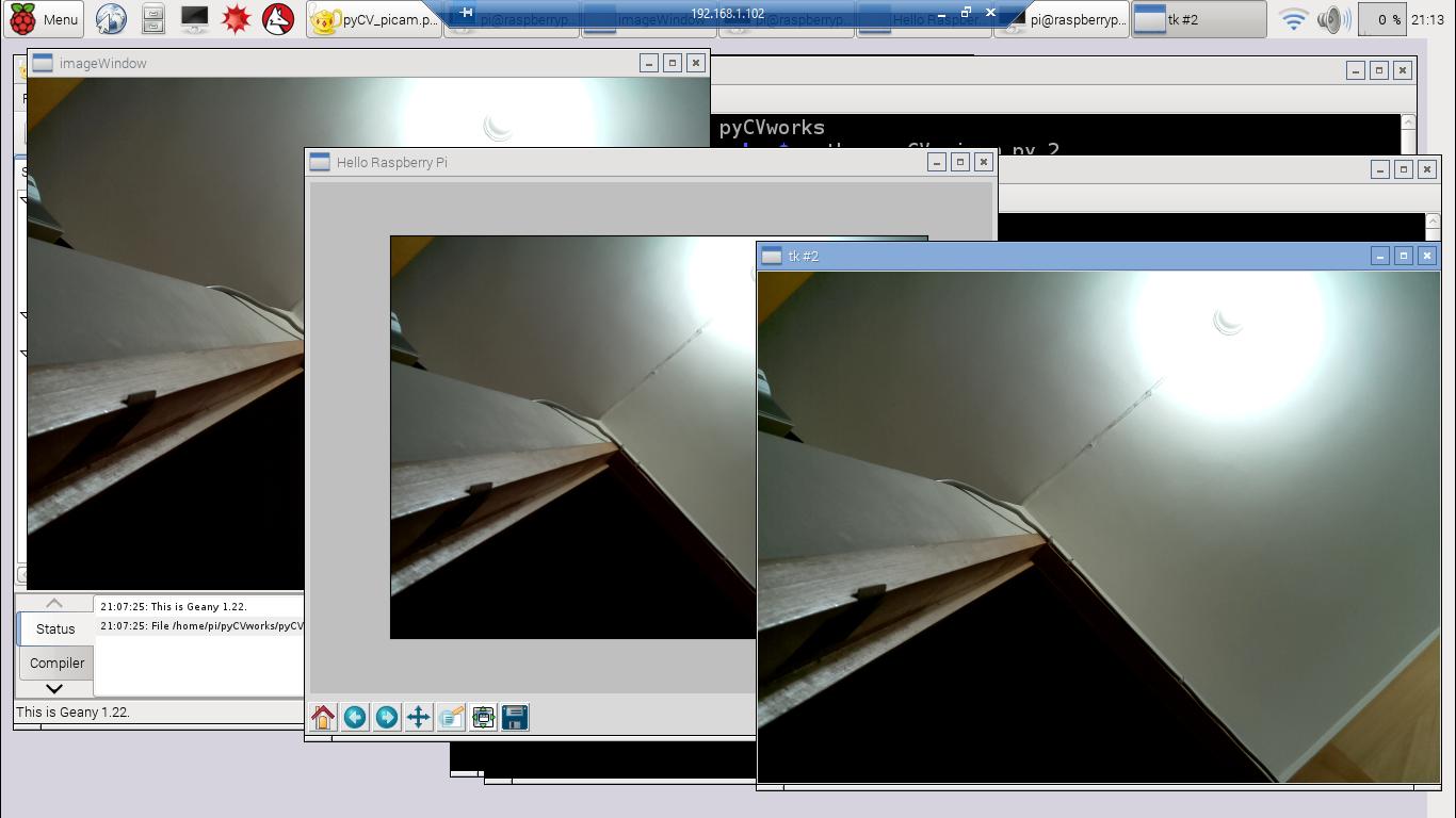 Hello Raspberry Pi: Capture Raspberry Pi Camera image