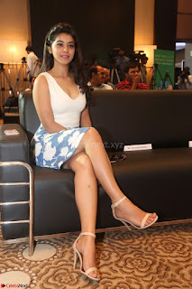 Yamini in Short Mini Skirt and Crop Sleeveless White Top 051.JPG