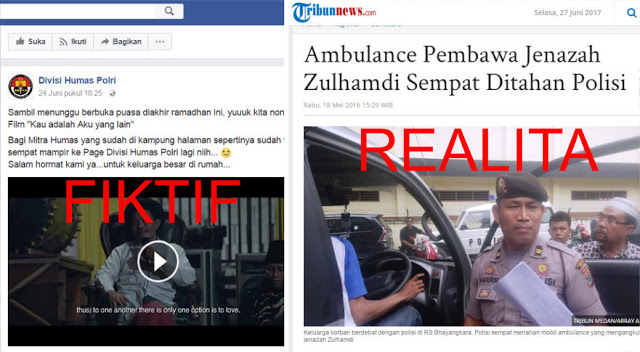 Jamaah Pengajian Halangi Ambulance, Fiktif; Faktanya Justru Polisi Tahan Ambulance Jenazah