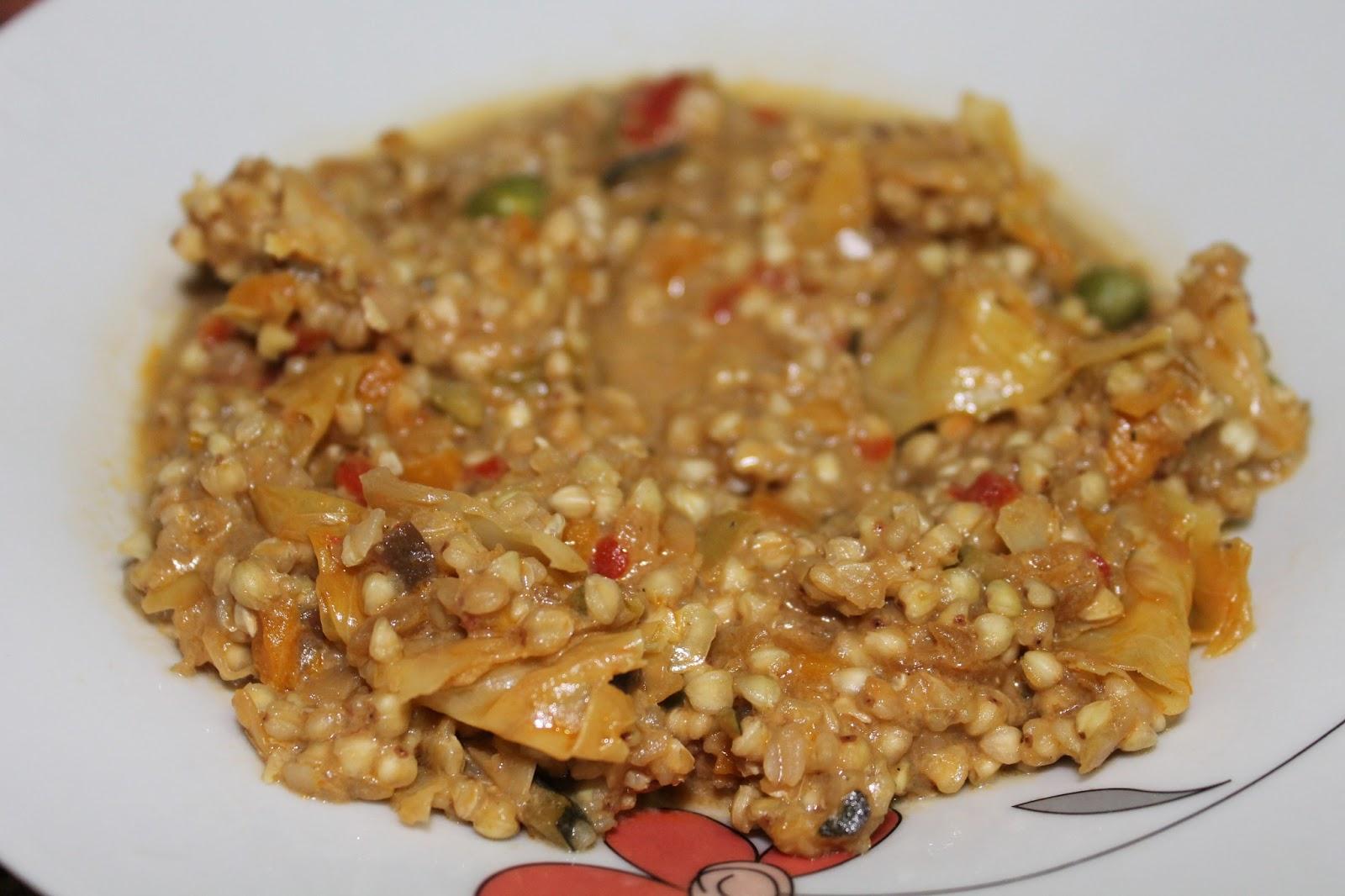Mis recetas antic ncer trigo sarraceno con verduritas for Cocinar trigo
