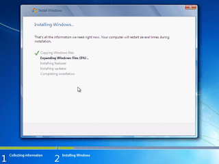 process of windows 7 installation in hindi