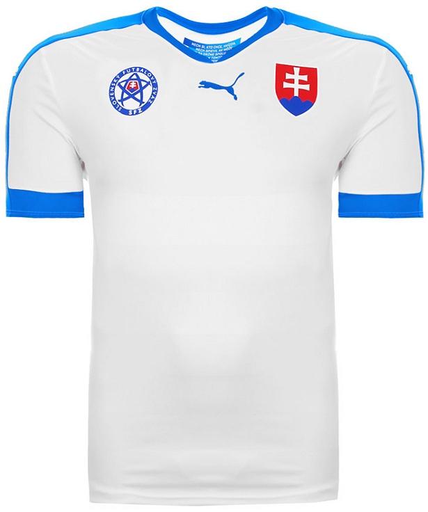 Puma apresenta nova camisa titular da Eslováquia - Show de Camisas 82fc2f051c152
