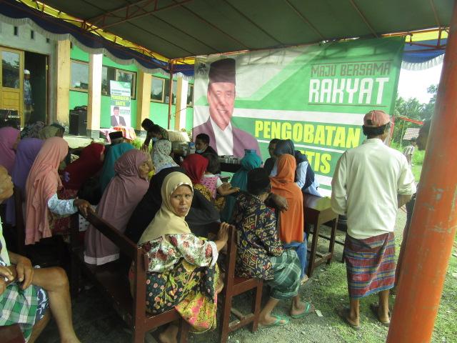 Relawan Ali BD Laksanakan Pengobatan Gratis