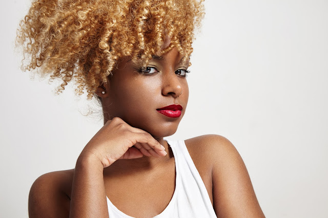 Using color when transitioning can be damaging to your hair