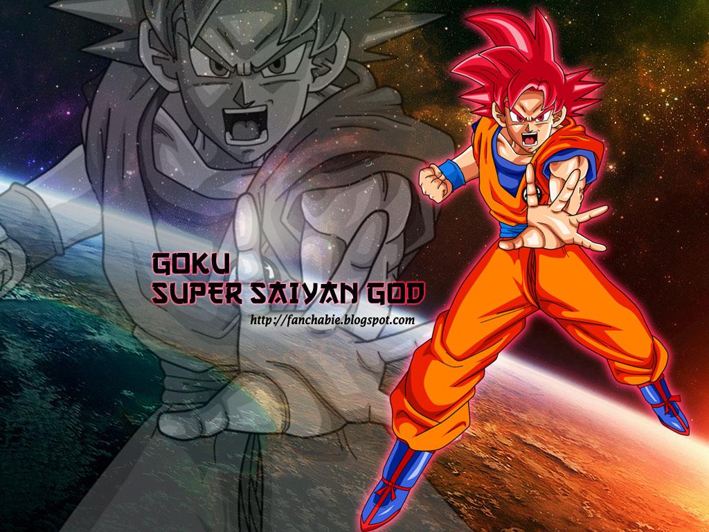Goku Super Saiyan GOD New Wallpaper HD